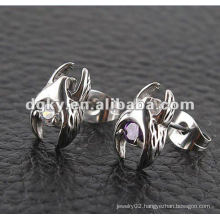 surgical Stainless Steel piercing jewelry wholesale men stud earring