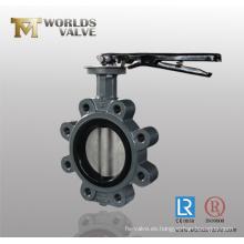 Válvula de mariposa de Wafer ANSI de 150 lb con certificación CE