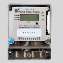 Einphasiger digitaler Wattstundenzähler mit Prepaid Funktion