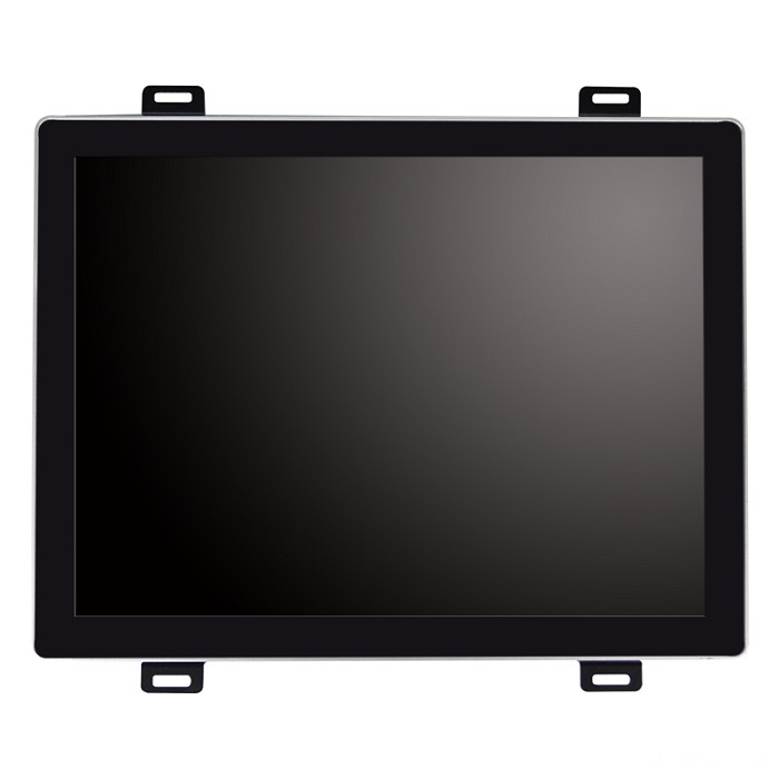 Square screen Open frame PCAP touch monitor front