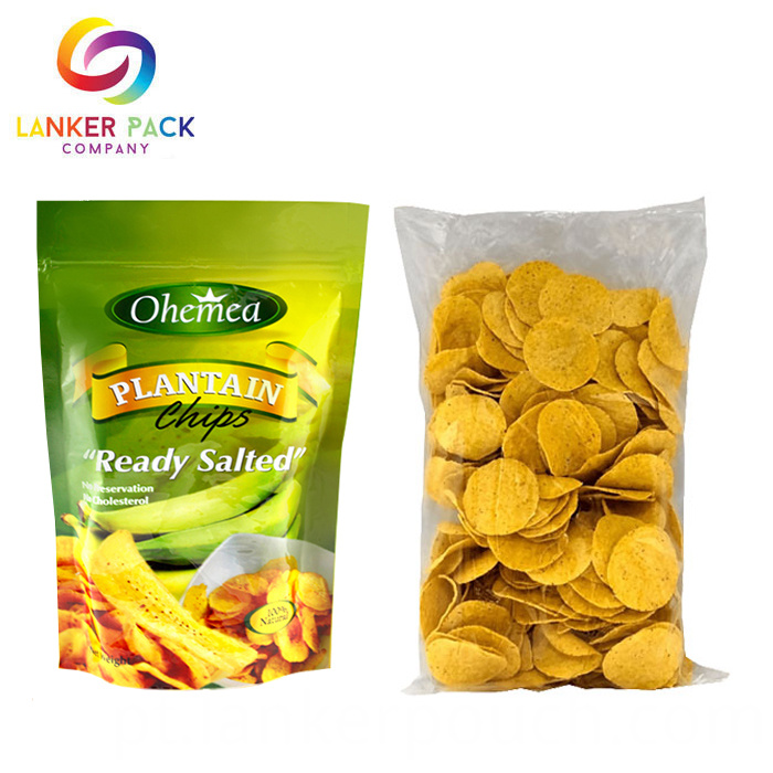 Food Grade Custom Laminated Material Potato Chips Bag