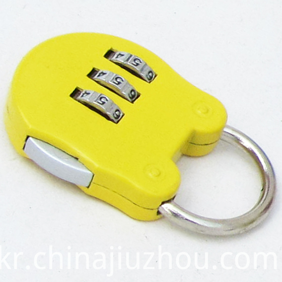Small And Cute Zinc Alloy Code Padlock