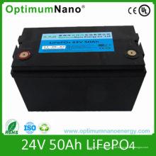 Ganzer Verkauf 24V 50ah Lithium Batterie