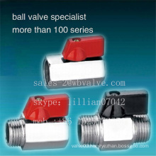 Brass Mini Ball Valve Price Pn-25 Mini Ball Valve