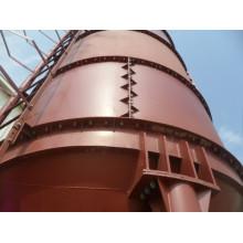 Brida exterior empernado silos