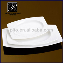 fashion outside rectangular inner round plate with streak rim PT-0204