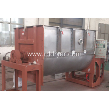 Horizontal Ribbon Mixer for Batch Mixing