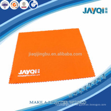 100% polyester orange chiffon propre pour lunettes