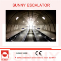 Escalator robuste avec rainures antidérapantes et plaque intérieure sans vis, Sn-Es-D035