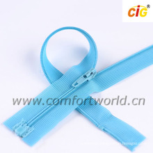 3# Nylon Lace Zipper Open End With Plastic Stop and Bottom