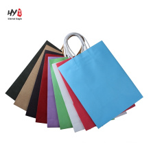 Paper with fully printed color laminated shopping tote bag