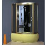 Locker room shower golden professional Steam Shower Cabin