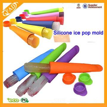 Silikon-Eis-Pop-Schimmel und Ice Pop Maker
