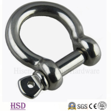 Steel316 acero inoxidable arco europeo tipo grillete para Hardware de elevación