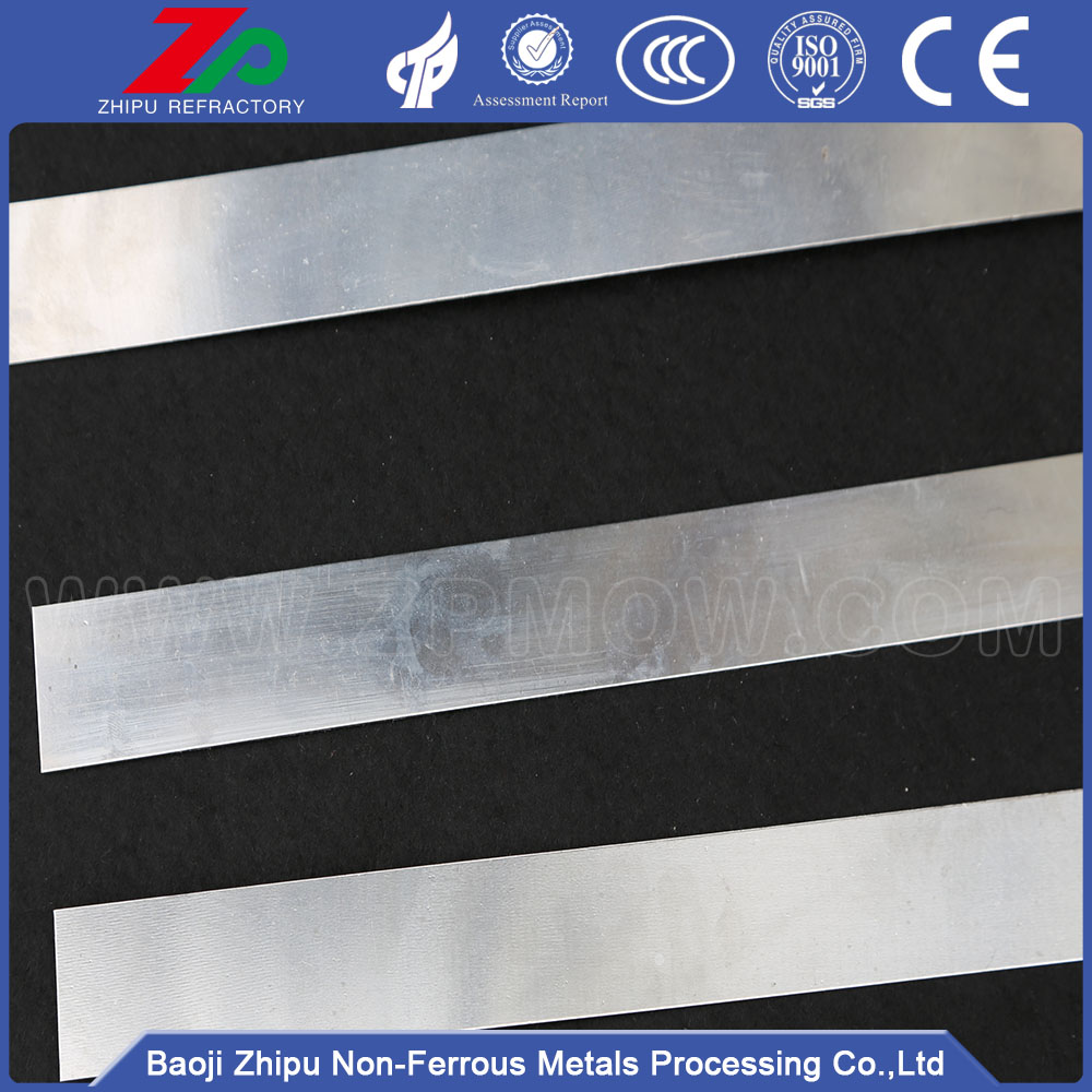 99,95% Renhet ASTM B 708 Tantal Sheet