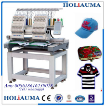 Newest compact 2 head automatic embroidery machine prices for HO1501N