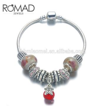 ОЕМ ювелирные изделия браслет, золото цвет золото 24k браслет, Роуз медного сплава браслет для женщин