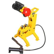 QG12 cortador de tubo de aço inoxidável hidráulico elétrico, 110mm, CE