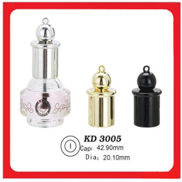 Cosmetic Plastic Crown Nail Polish Cap