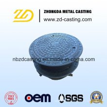 Sand-Casting-Manhole-Covers-with-Lock-and-Hinge