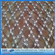 Galvanized Concertina Razor Barbed Wire Coil