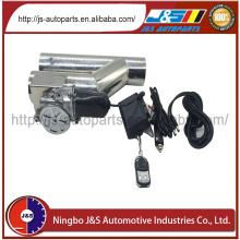 リモート制御ステンレス鋼排気マフラー チップ 3「電気 Y パイプ排気排気切替器