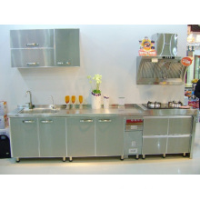 Strong #304 Stainless Steel Kitchen Cabinets
