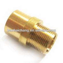 OEM cnc machining parts brass bushing sleeve