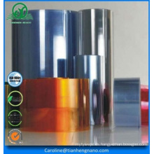 Taiwán calidad azul tono rígida película PVC