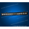 60W Single Row LED Light Bar utilisé sur le véhicule hors de la route