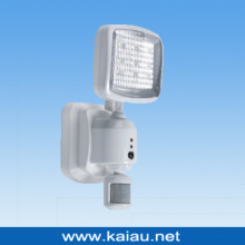 Recargable PIR Sensor LED de la pared de la luz