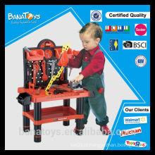 Brinquedo de plástico de venda quente para crianças Bricolage brinquedo ferramenta