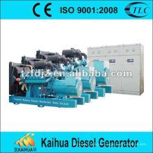 500kw conjunto generador paralelo doosan