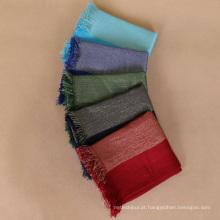 Venda quente 26 cores fio de ouro shimmer algodão cachecol wmen hijab