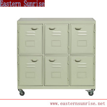 Practical Metal Design Library Book Trolley Library Cart