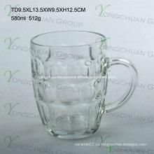 580ml Кубок пива стеклянного ананаса
