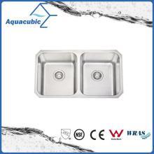Двойной чаша СУС модульная Кухонная раковина (ACS7945M)