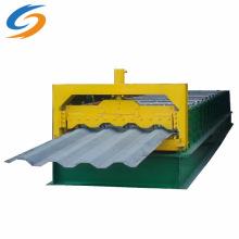 Máquina formadora de rolos de telha de aço colorido