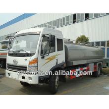Venda quente !! Caminhão de leite de JieFang 4x2, caminhão de camião-cisterna do leite