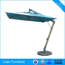 Parapluie solaire de patio extérieur carré