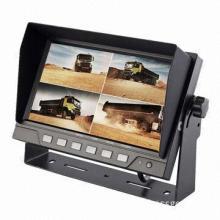 7-inch Quad Digital Monitor for Farm Tractors, Trucks, Heavy-duty Equipment