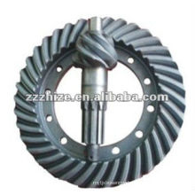 hot sale EQ1061 Driving and driven bevel gear / Bus Parts