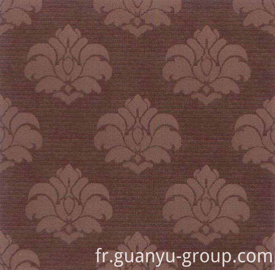 Flower Pattern Metal Look Rustic Tile