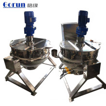 Bouilloires industrielles de cuisson à la vapeur à double enveloppe en acier inoxydable de 200 litres à vendre