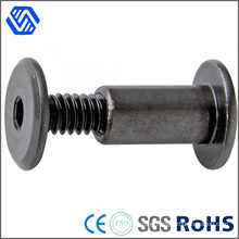 Custom Made Special Carbon Steel Black Round Head Socket Nut Bolt