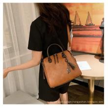 2021 New Fashion Simple Ladies Leather Handbag
