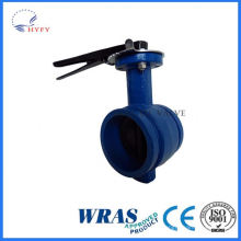 Professional design 4 wafer butterfly valve