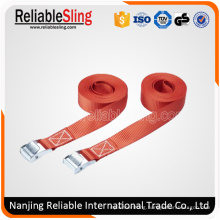 2.4m/ 5.5m/0.8m Ratchet Tie Down Strap with Metal Buckle