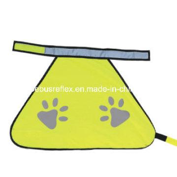 Colete reflexivo de segurança de alta visibilidade para cães