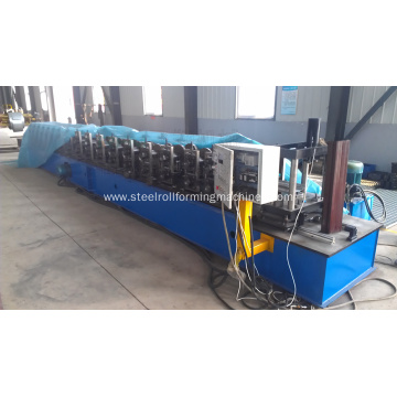 Metal steel shutter door roll forming machine